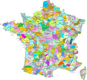 Tardenois - Image: Carte region naturelle