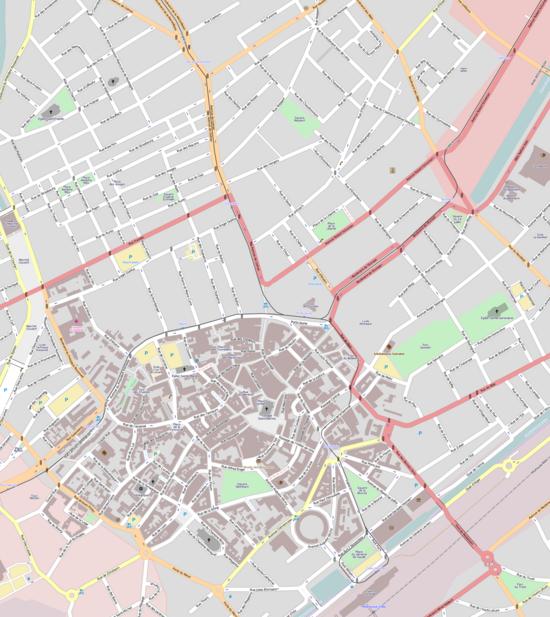 Strasbourg Carte Centre Ville