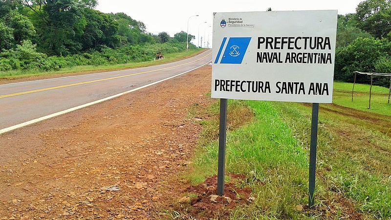 File:Cartel Santa Ana (Provincia de Misiones, Argentina) - Prefectura Naval Argentina - Prefectura Santa Ana.jpg
