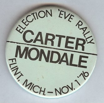 Carter Mondale button 1976