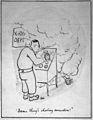 Cartoon 'Damn thing's shorting somewhere' Wellcome L0030830.jpg