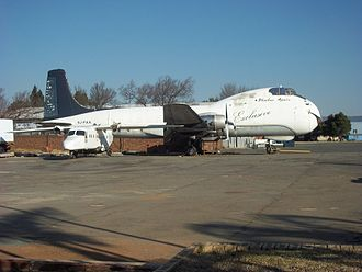 Rand Airport -  An ATL-98 Carvair in storage at Phoebus Apollo Aviation. Only 21 were built.