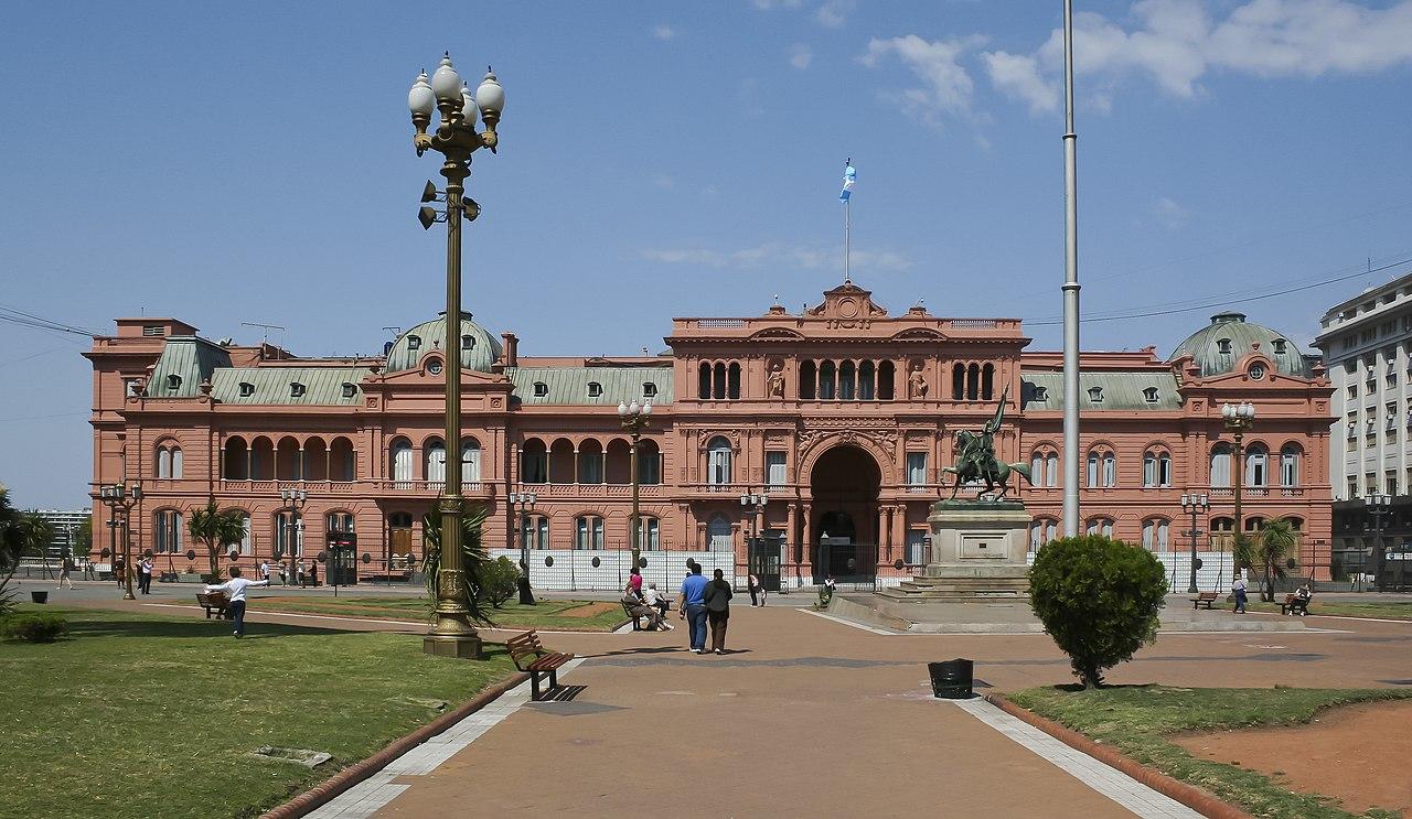 File casa rosada buenos aires wikimedia for Casa argentina