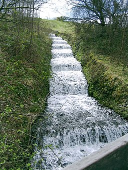 Cascade in Dare Valley Country Park - geograph.org.uk - 794511