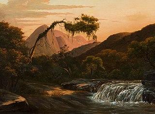 Cascata dos Correias, Petrópolis (atribuído)