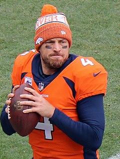 Case Keenum American football quarterback