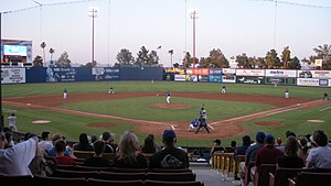 Las Vegas 51s - Las Vegas 51s baseball game against the Iowa Cubs at Cashman Field in 2008