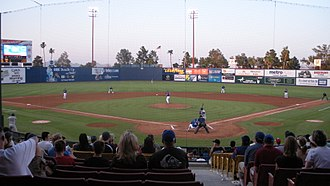Las Vegas Aviators - A Las Vegas 51s baseball game against the Iowa Cubs at Cashman Field in 2008
