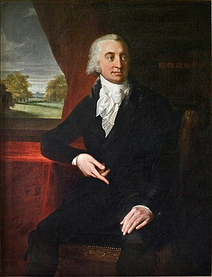 Caspar Voght - Caspar Voght: painting by Jean-Laurent Mosnier, 1801