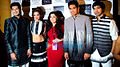 Cast of 'Fugly' at Lakme Fashion Week 2014.jpg