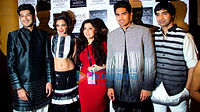 Cast of 'Fugly' at Lakme Fashion Week 2014