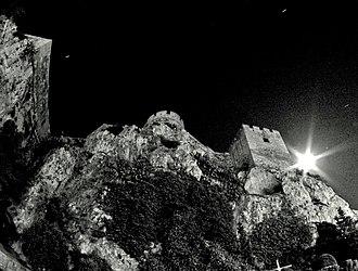 Osorio (play) - A castle near the coast of Granada