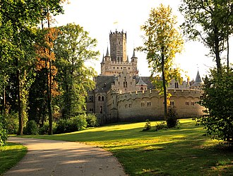 Marienburg Castle (Hanover) - Image: Castle Marienburg in Lower Saxony