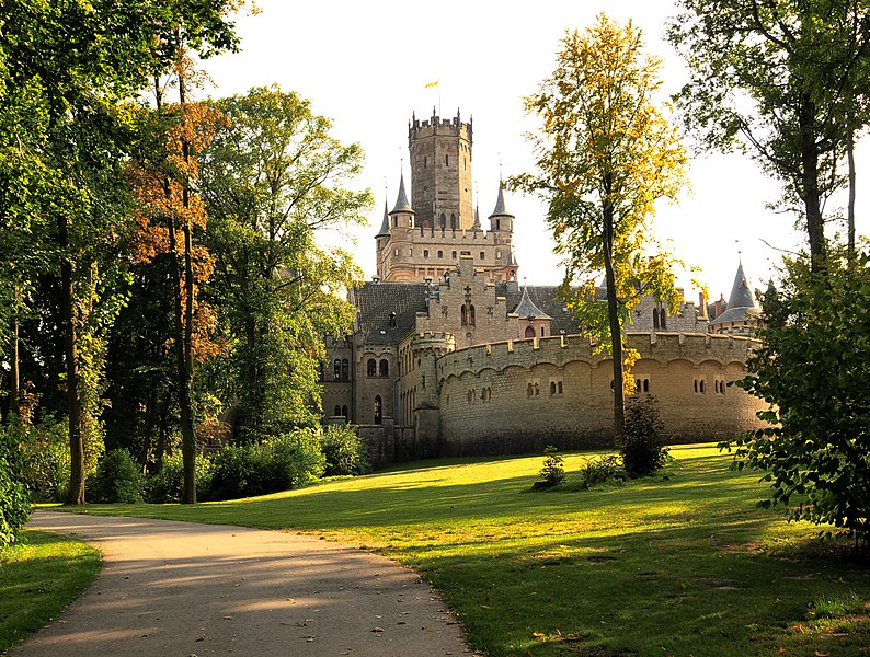 File:Castle Marienburg in Lower Saxony.jpg