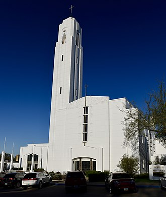 National Register of Historic Places listings in Burleigh County, North Dakota - Image: Cathedral of the Holy Spirit Bismarck, N.D