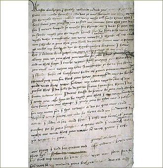 Catherine Howard - Letter from Catherine Howard to Thomas Culpeper