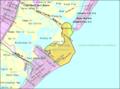 Census Bureau map of North Wildwood, New Jersey.png