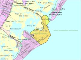 Census Bureau map of North Wildwood, New Jersey.png