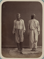 "Central Asian Men's Clothing. Men Wearing a Pair of Flowing Pants, or ""Izar"" WDL10765.png"