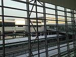 Central Japan International Airport Station from departure lobby of Chubu Centrair International Airport.JPG