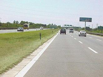 G4 Beijing–Hong Kong–Macau Expressway - Expressway near the Zhaoxindian/Changxindian exit (2004)