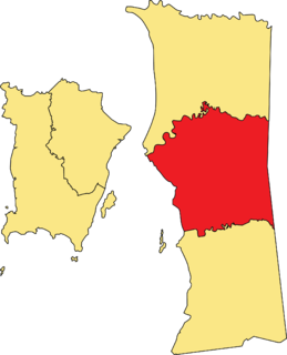 Central Seberang Perai District District of Malaysia in Penang
