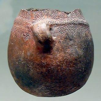 Cardium pottery - Image: Cerámica cardial La Sarsa (España)