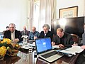 Cerimónia de assinatura do memorando de entendimento entre Wikimedia Portugal, UAb, CIDH, LE@D e CLEPUL - IMG 8009.jpg