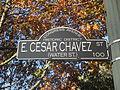 Cesar Chavez Street sign in Austin, TXIMG 6250.JPG