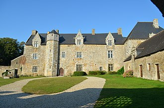 Theix - The Château of Plessis-Josso, in Theix