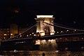 Chain Bridge, Budapest, Night bridge (11166519935).jpg