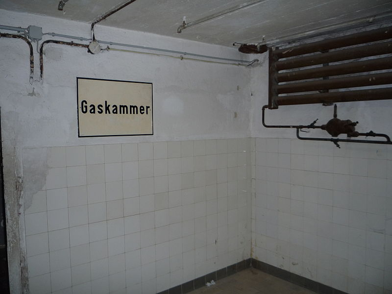 File chambre gaz du camp de concentration de mauthausen for Camp du struthof chambre a gaz
