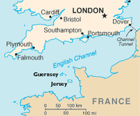 Guernsey England Map.Channel Islands Travel Guide At Wikivoyage