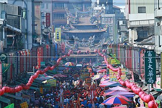 Chaotian Temple Temple to the Chinese sea-goddess Mazu