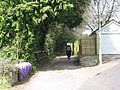 Chapel Close alley, Corfe Mullen - geograph.org.uk - 1230445.jpg