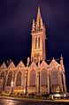 Chapelle du Kreisker éclairée.JPG
