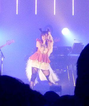 Chara (singer) - Chara performing live, 2011