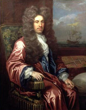 Charles Calvert, 3rd Baron Baltimore - Charles Calvert, 3rd Baron Baltimore, painted by John Closterman.