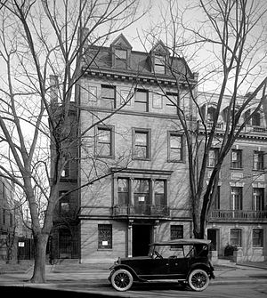 Charles Evans Hughes - Hughes's residence in 1921