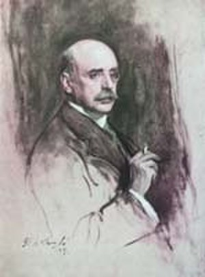 Charles Holme - Portrait of Charles Holme by Philip Alexius de László (1869–1937), published in The Studio in January 1928