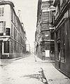 Charles Marville, Rue Neuve-Saint-Augustin, de la rue Richelieu, ca. 1853–70.jpg