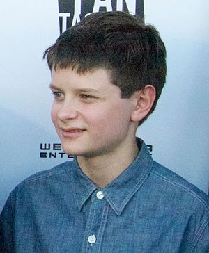 Charlie Tahan - Tahan in 2012 at the Frankenweenie premiere at the Fantastic Fest in Austin, Texas