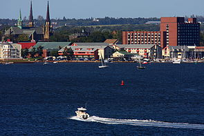 Charlottetown skyline from Rocky Point.jpg