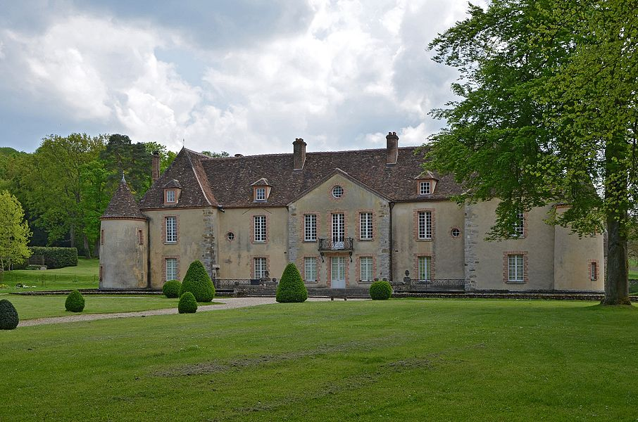 Chateau de Bois-le-Roi à Nailly, Yonne, France