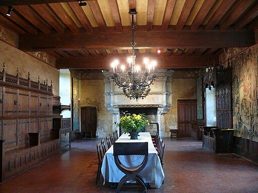 Chateau de Langeais - Salle du banquet