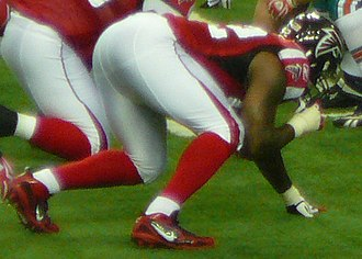 Chauncey Davis - Davis with the Falcons in 2009