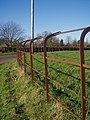 Cheshire Railings on a bend in Lutton - geograph.org.uk - 713155.jpg