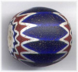 Chevron bead - Chevron bead, Venetian