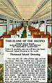 Chicago Burlington and Quincy dining car and recipe.JPG