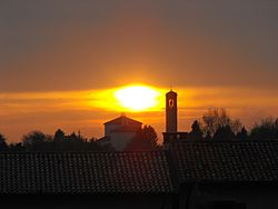 Chiesa di Treppo Grande al tramonto.jpg